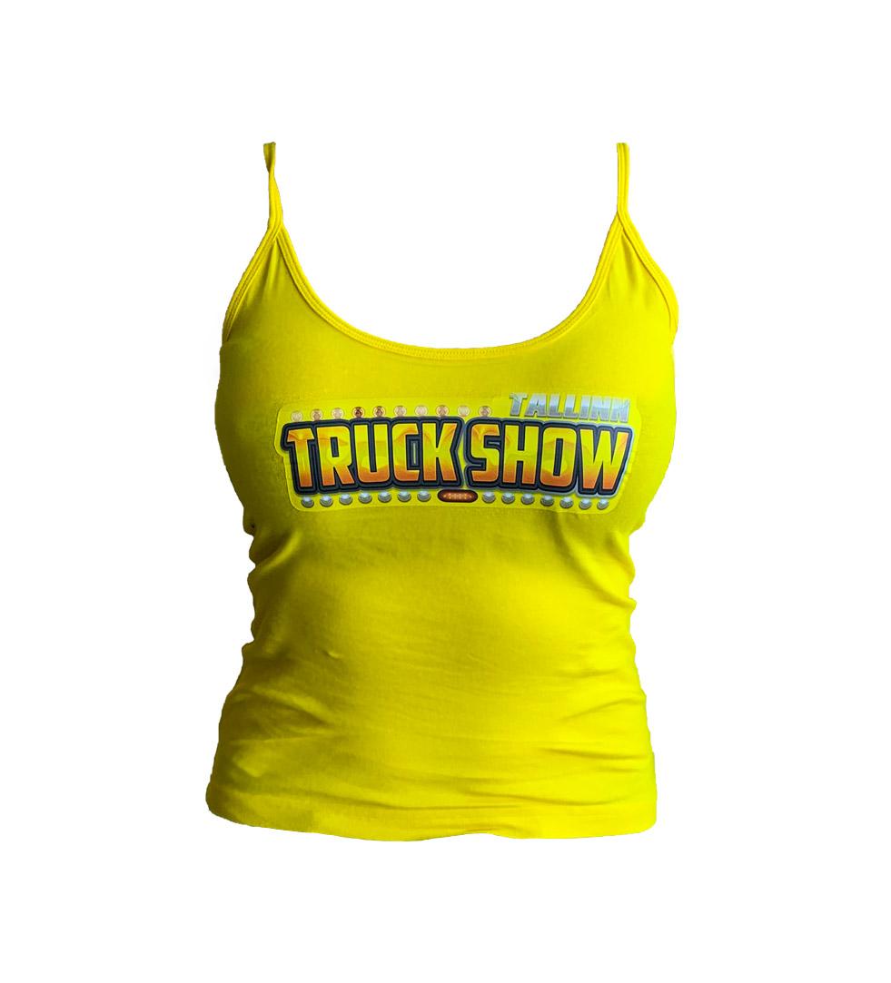Naiste kollane suve top